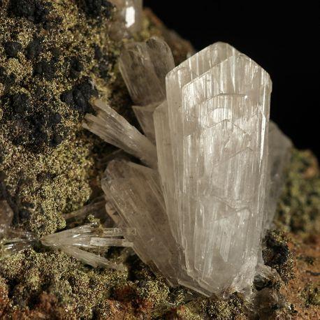 Hemimorfit - rzadki minerał cynku - Meksyk