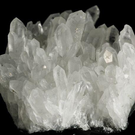 Kryształ górski, piryt - Bułgaria