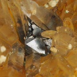 Kryształ górski, galena - Bułgaria