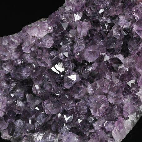 Ametyst - szczotka krystaliczna - Urugwaj