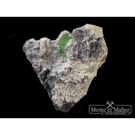 Fluoryt - ciekawe zrosty kryształów