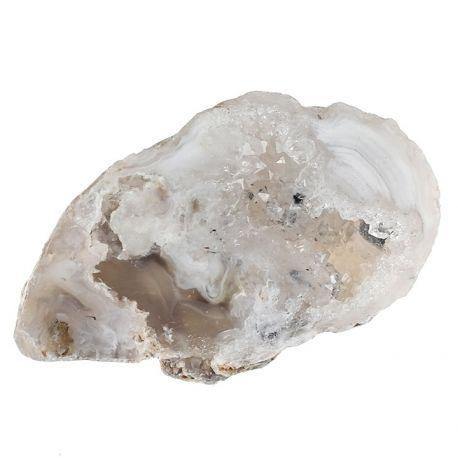 Geoda kwarcowa w otoczce agatowej - Meksyk