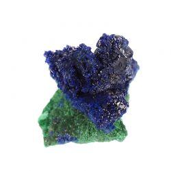 Krystaliczny azuryt, malachit - Maroko