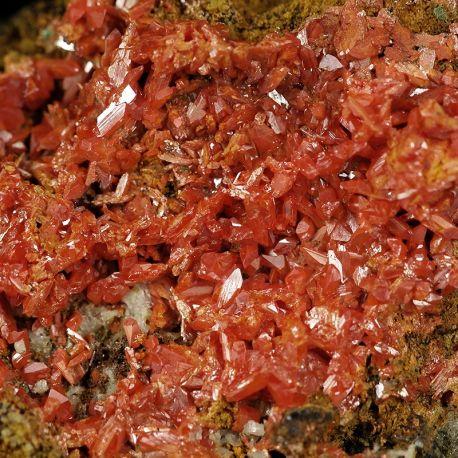 Krokoit - rzadki minerał z historycznej lokalizacji - Rosja