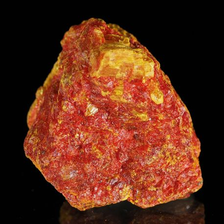 Aurypigment, realgar - rzadkie minerały z kopalni złota - USA